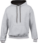 Gildan – Heavy Blend™ Contrast Hooded Sweatshirt for embroidery and printing