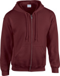 Gildan – Heavy Blend™ Full Zip Hooded Sweatshirt zum besticken und bedrucken
