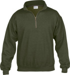 Gildan – Heavy Blend™ Vintage 1/4 Zip Sweatshirt for embroidery and printing