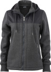 James & Nicholson – Ladies' Hooded Sweat Jacket for embroidery and printing