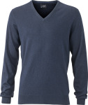 James & Nicholson – Mens' Pullover for embroidery and printing