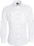 James & Nicholson – Men's Traditional Shirt Plain for embroidery and printing
