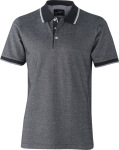 James & Nicholson – Men's Piqué Polo bicolor for embroidery and printing