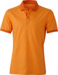James & Nicholson – Mens' Jersey Heather Polo for embroidery and printing