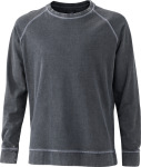 James & Nicholson – Men's Casual Sweat for embroidery and printing
