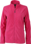 James & Nicholson – Ladies' Microfleece Jacket for embroidery and printing