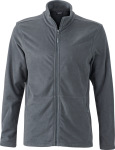 James & Nicholson – Men's Microfleece Jacket for embroidery and printing