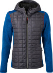 James & Nicholson – Ladies' Knitted Hybrid Jacket for embroidery