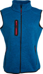 James & Nicholson – Ladies' Knitted Fleece Vest hímzéshez