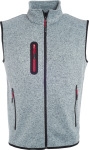 James & Nicholson – Men's Knitted Fleece Vest hímzéshez