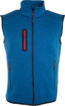 James & Nicholson – Men's Knitted Fleece Vest for embroidery