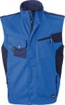 James & Nicholson – Workwear Vest for embroidery
