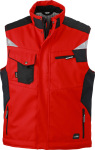 James & Nicholson – Workwear Winter Softshell Vest for embroidery