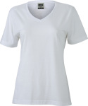 James & Nicholson – Ladies' Workwear T-Shirt for embroidery and printing