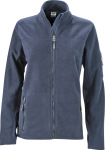 James & Nicholson – Ladies' Workwear Microfleece Jacket for embroidery and printing