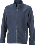James & Nicholson – Men's Workwear Microfleece Jacket for embroidery and printing