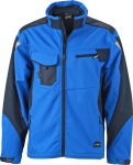James & Nicholson – Workwear Summer Softshell Jacket for embroidery and printing