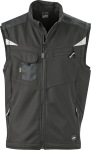 James & Nicholson – Workwear Summer Softshell Gilet for embroidery and printing