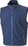 James & Nicholson – Men's 3-Layer Softshell Vest for embroidery