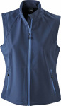 James & Nicholson – Ladies' Softshell Vest for embroidery