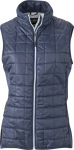 James & Nicholson – Ladies' Hybrid Gilet for embroidery