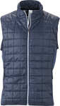James & Nicholson – Men's Hybrid Gilet for embroidery