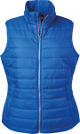 James & Nicholson – Ladies' Padded Vest hímzéshez