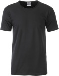 James & Nicholson – Men's T-Shirt Organic for embroidery and printing