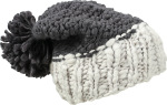 Myrtle Beach – Coarse Knitted Hat with Pompon