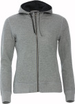 Clique – Classic Hoody Full Zip Ladies for embroidery and printing
