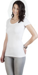 Promodoro – Women's Slim Fit V-Neck-T Long zum besticken und bedrucken