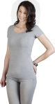 Promodoro – Women's Slim Fit V-Neck-T Long for embroidery and printing