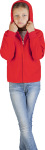 Promodoro – Kid's Hooded Fleece Jacket zum besticken und bedrucken