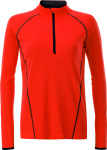 James & Nicholson – Ladies' Sportsshirt Longsleeve for embroidery