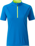 James & Nicholson – Ladies' Bike-T Half Zip for embroidery