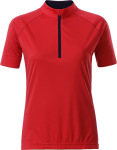 James & Nicholson – Ladies' Bike-T Half Zip hímzéshez