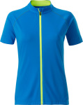James & Nicholson – Ladies' Bike-T Full Zip for embroidery
