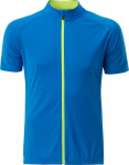 James & Nicholson – Men's Bike-T Full Zip for embroidery