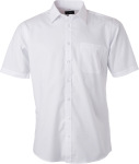 James & Nicholson – Popline Shirt shortsleeve for embroidery and printing