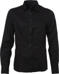 James & Nicholson – Micro-Twill Shirt longsleeve for embroidery and printing