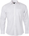 James & Nicholson – Oxford Shirt longsleeve for embroidery and printing