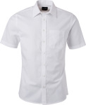 James & Nicholson – Oxford Shirt shortsleeve for embroidery and printing