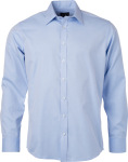 James & Nicholson – Herringbone Shirt longsleeve for embroidery and printing