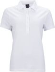 James & Nicholson – Ladies' Elastic Piqué Polo for embroidery and printing
