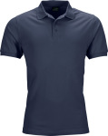 James & Nicholson – Men's Elastic Piqué Polo for embroidery and printing