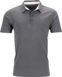 James & Nicholson – Men's Piqué Polo for embroidery and printing