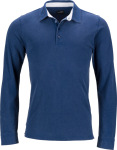 James & Nicholson – Men's Piqué Polo longsleeve for embroidery and printing