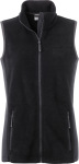 James & Nicholson – Damen Workwear Fleece Gilet zum besticken