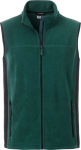 James & Nicholson – Herren Workwear Fleece Gilet zum besticken