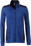 James & Nicholson – Ladies' knitted Workwear Fleece Jacket hímzéshez